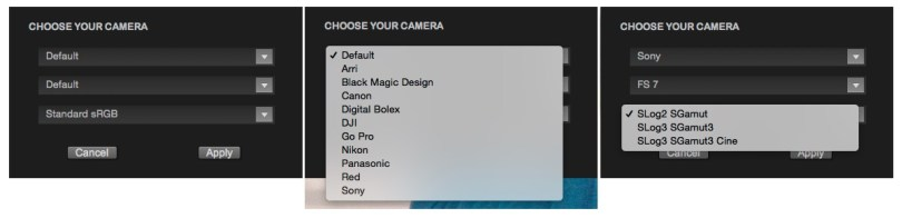 film-convert-camera-settings-section